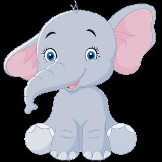 Baby Elephant Clipart Transparent.