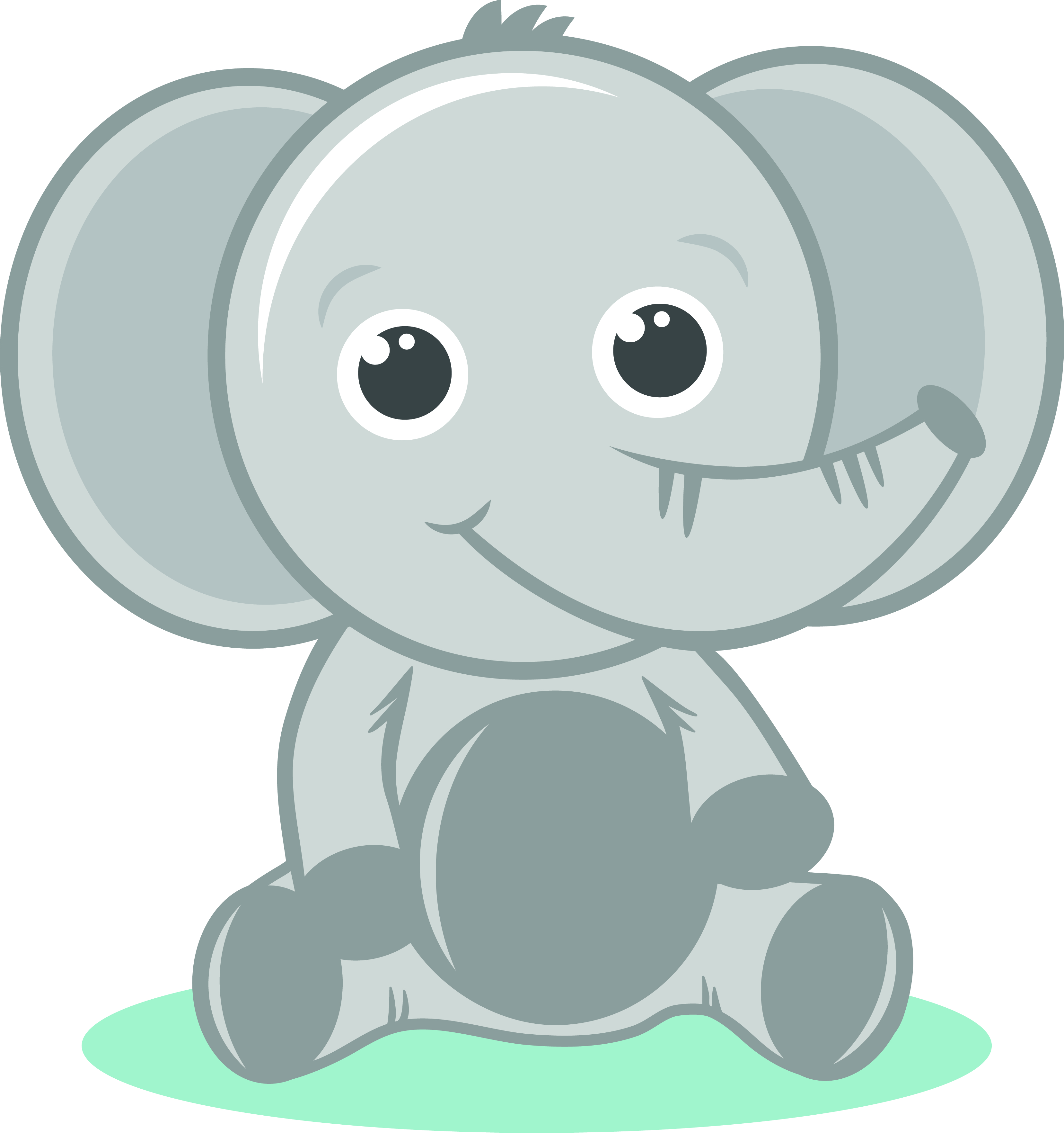 Baby Elephant Clipart Png.
