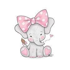 Image result for baby elephant drawing in 2019.