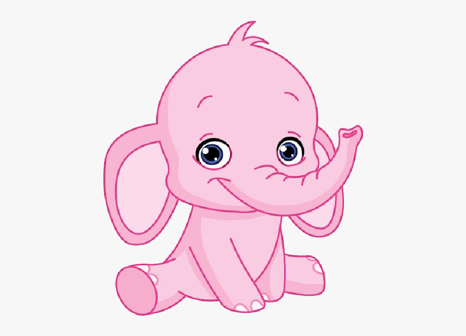 Baby Elephant Cute Elephant Cute Baby Clip Art Page.