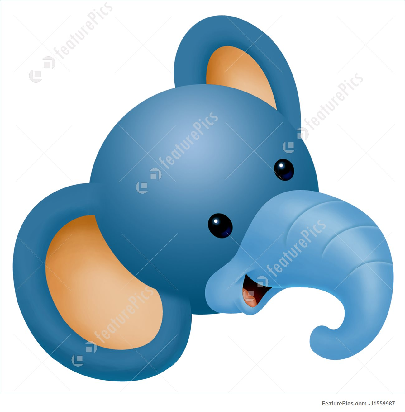 Elephant Head Clipart at GetDrawings.com.
