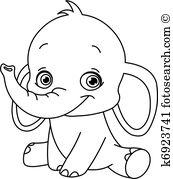 Elephant Clipart and Illustration. 16,612 elephant clip art vector.