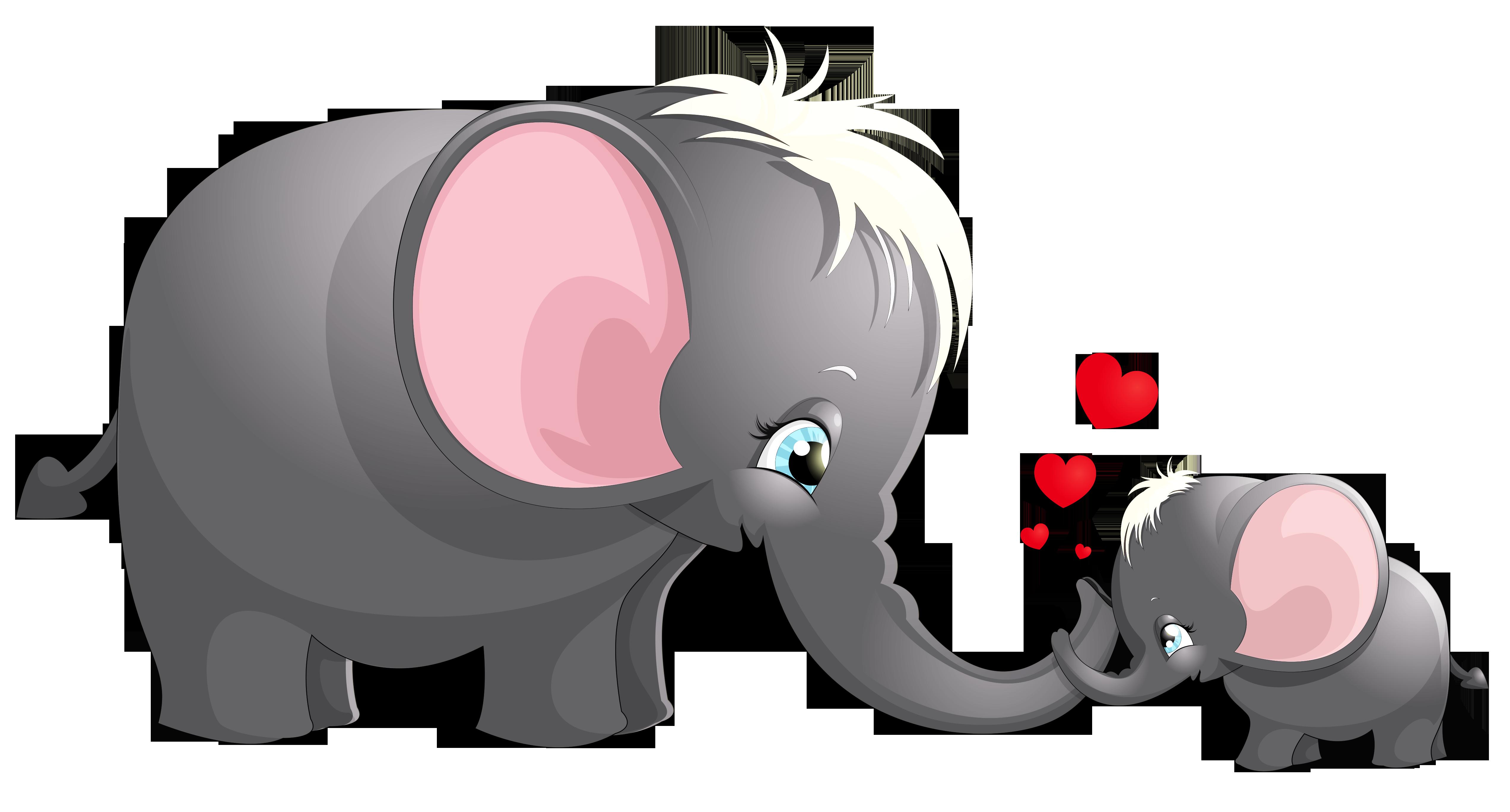 Elephant Cartoon Drawing Clip art.