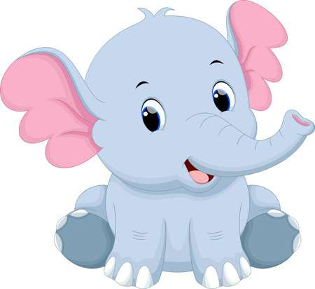 Cute baby elephant clipart 1 » Clipart Station.