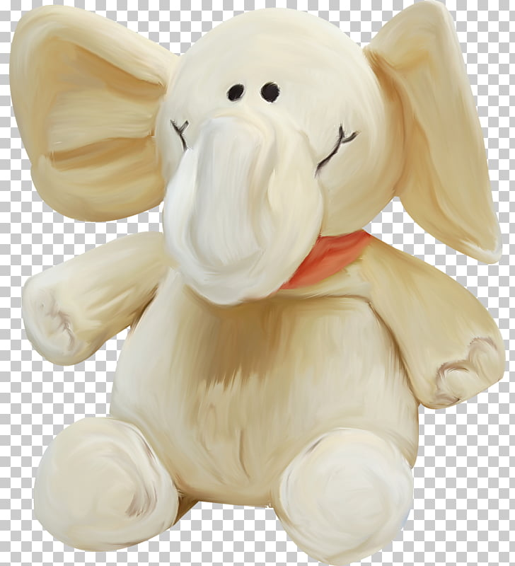 Birman Stuffed toy Elephant, Baby elephant PNG clipart.