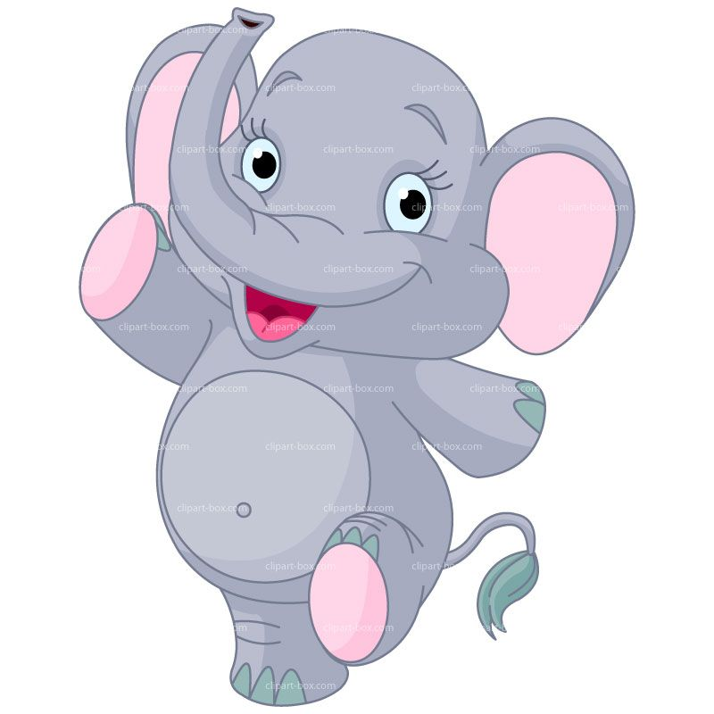 Elephant Walking Away Clipart.