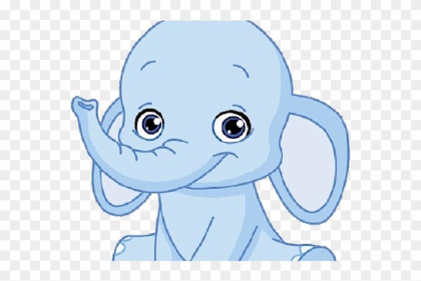 Cartoon Cute Elephant Baby, HD Png Download (#2140765).