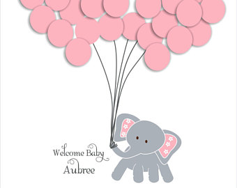 Balloons clipart baby elephant, Picture #252451 balloons.