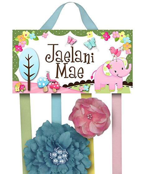 Amazon.com: Sweet Little Elephant HairBow Holder.