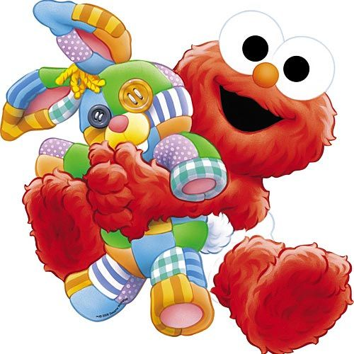Elmo bebe banner library stock png files, Free CLip Art.