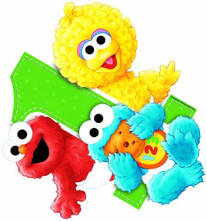 Sesame Street babies.