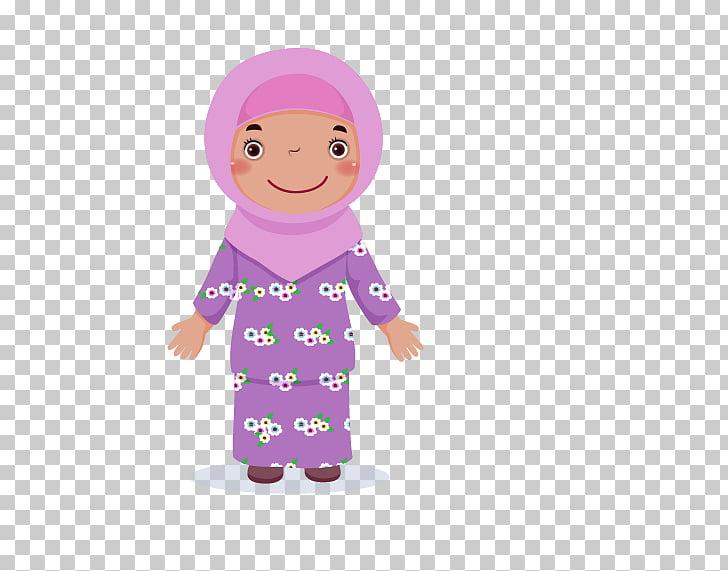 Ethnic group Vecteur Illustration, Minority Girls PNG.