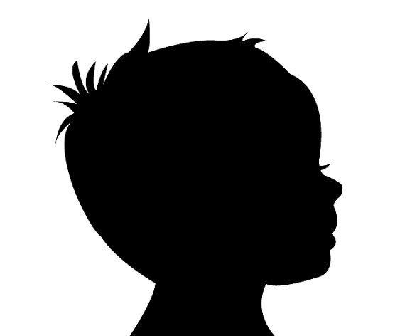 Custom Children Baby or Family Vector Silhouette by.