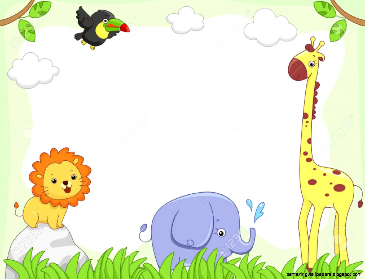 Baby Farm Animal Clipart Borders Clipground