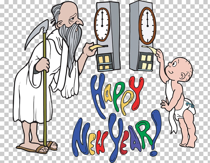 Father Time Baby New Year New Year\'s Day , Baby Celebration.