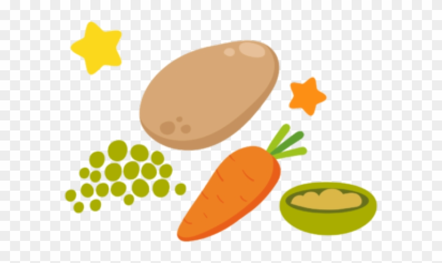 First Baby Food Clipart.