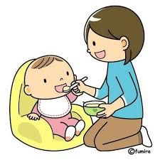Image result for baby eating clipart.