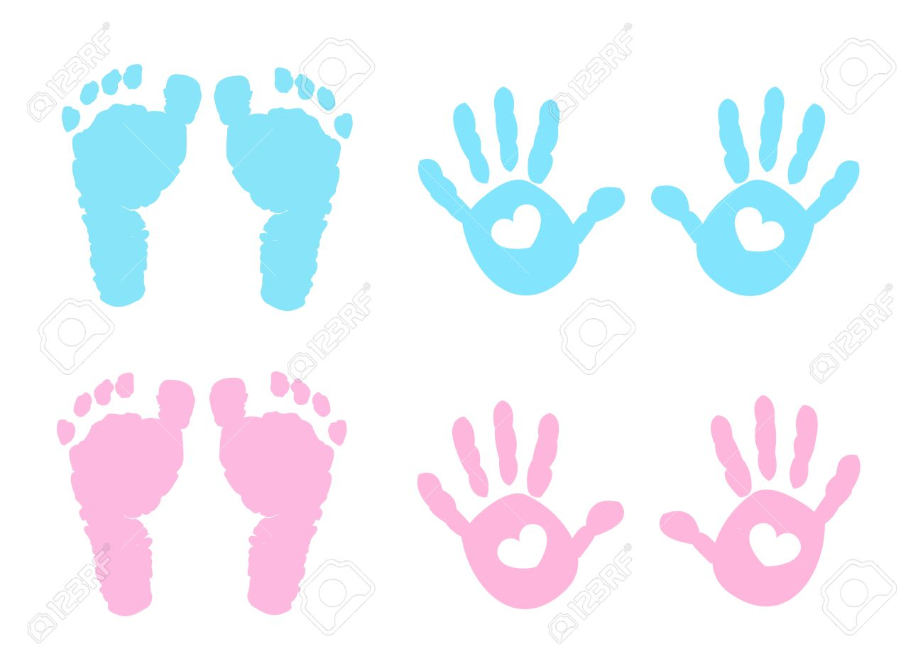 Baby hands and feet clipart 1 » Clipart Station.