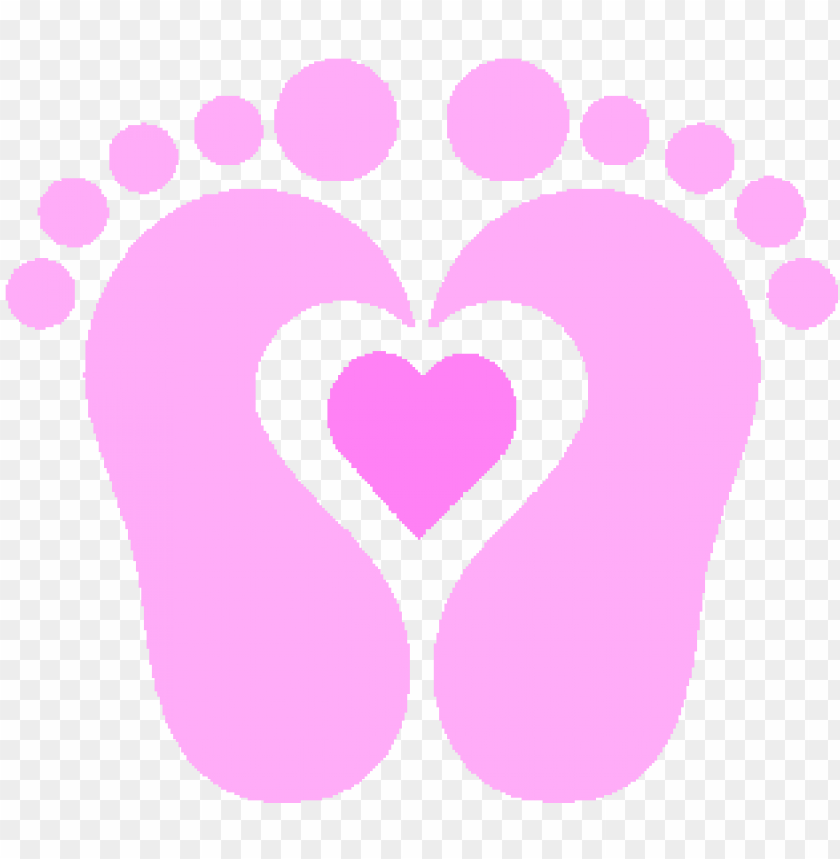image of baby footprint clipart.