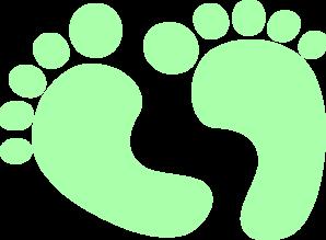 Baby Feet Clip Art at Clker.com.