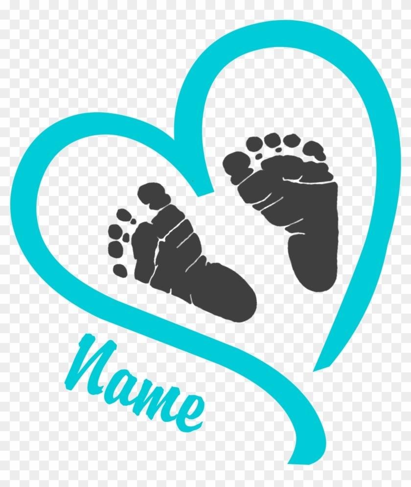 Baby Feet Clipart.