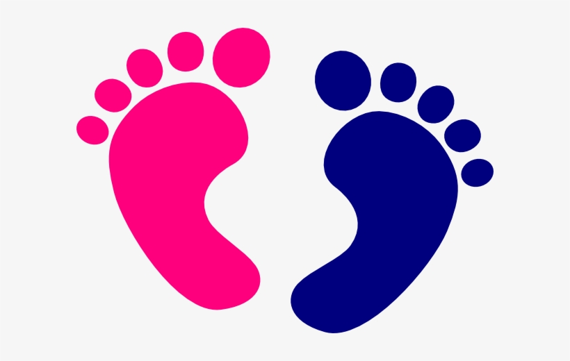 Blue Baby Feet Png Image Royalty Free.