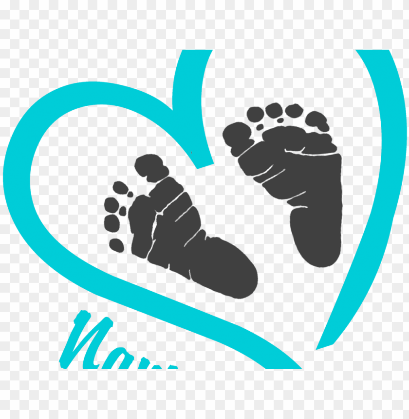 free baby footprint clipart.