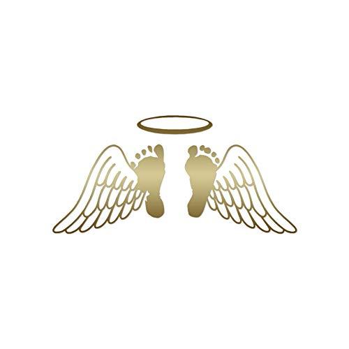Baby Feet Memorial Angel Wings.