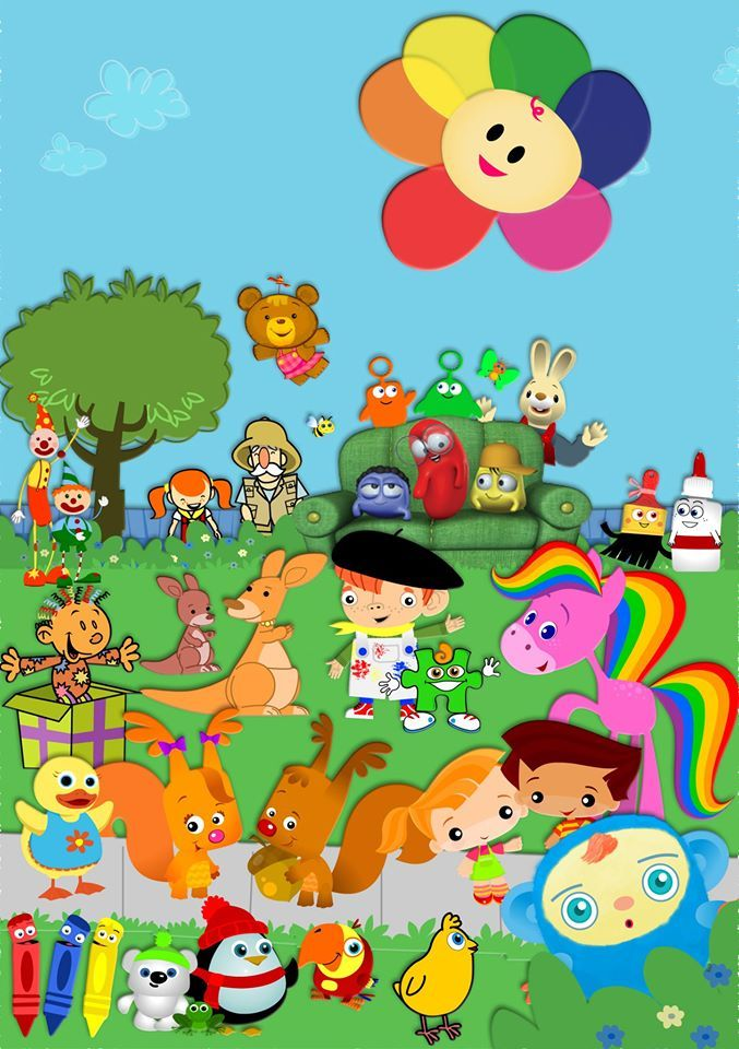 Introducing Baby first T.V. characters!! I\'ll name a few for.