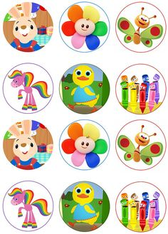 226 Best Baby First TV Printables images.