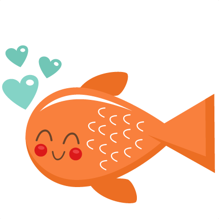 Cute Baby Fish Clipart.