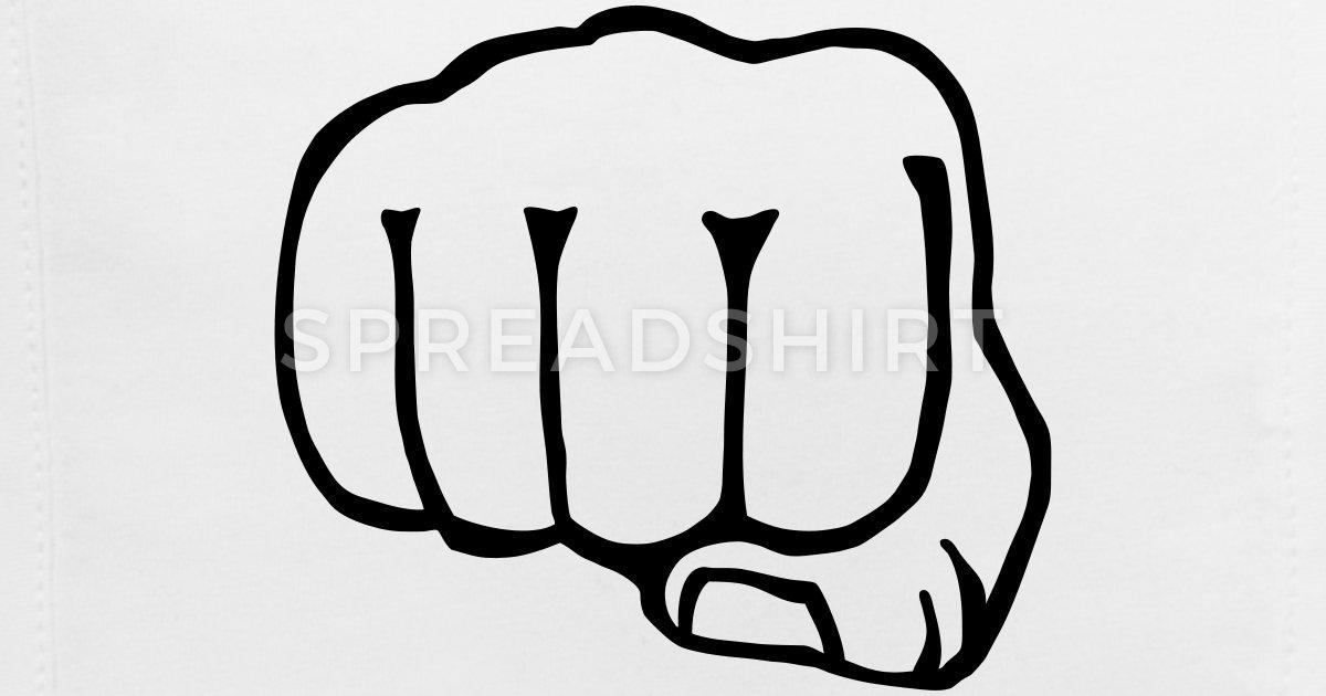 brofist / bro fist / fist bump 1c clipart Baby Bib.