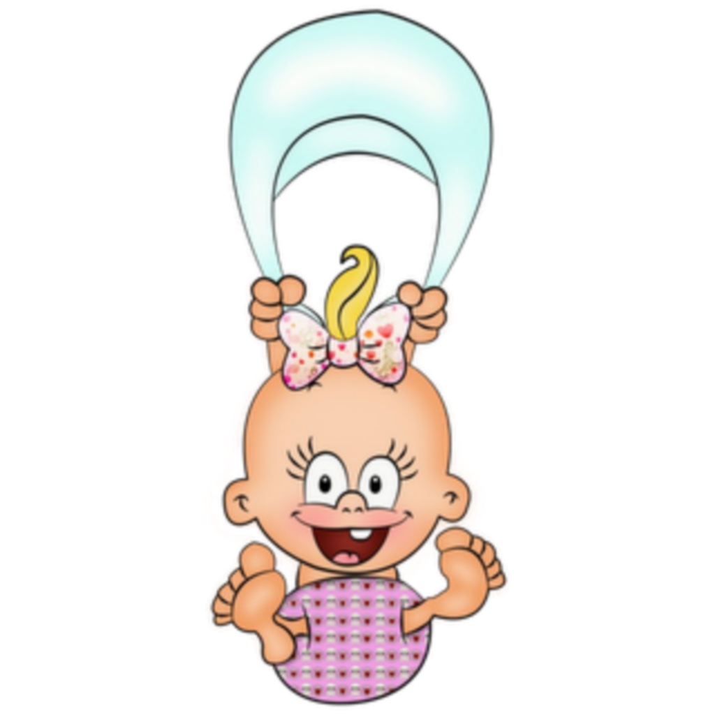 ftestickers clipart cartoon baby floating cute.