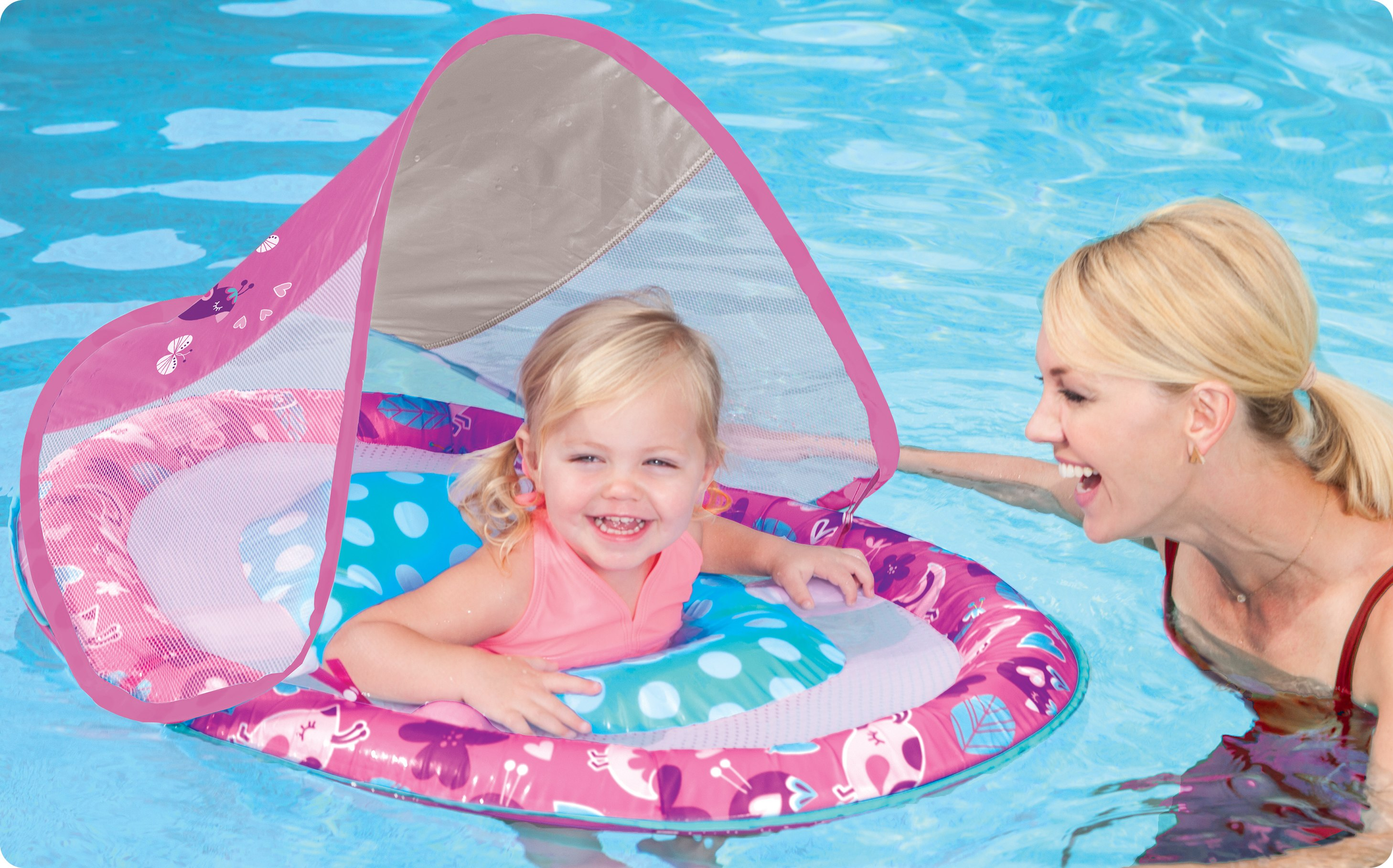 Pool floats, toys and swim trainers. Floats for Pools and Fun..