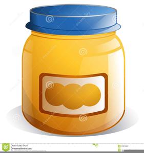 Baby Food Jar Clipart.