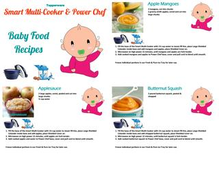 Tupperware Baby Food Recipes by Tupperware by Jason.