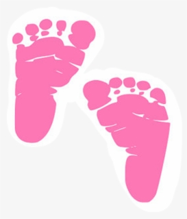 Free Baby Footprints Clip Art with No Background.