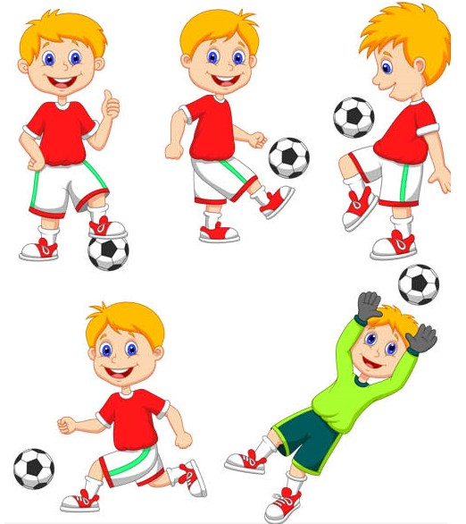 Free Playing Football Cartoon, Download Free Clip Art, Free.