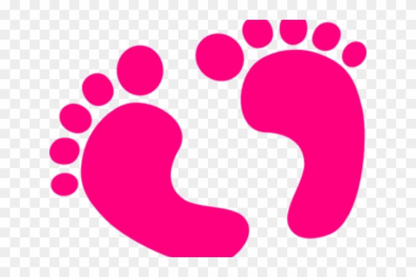Feet Clipart Baby Shower.