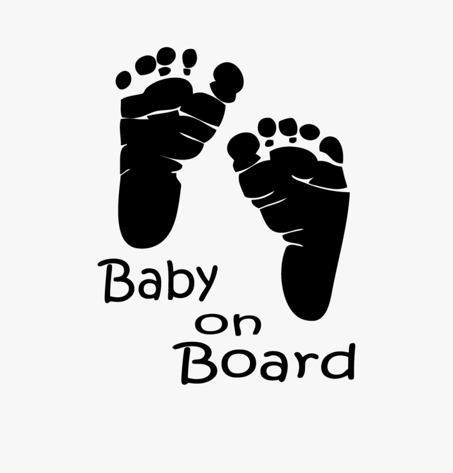 Baby Footprints Black And White Clipart Infant Footprint.