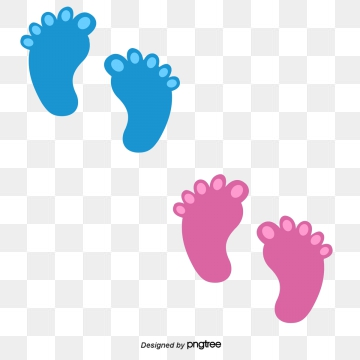 Baby Footprints Png, Vector, PSD, and Clipart With Transparent.