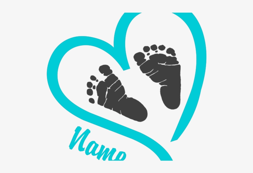 Light Blue Clipart Blue Baby Foot.