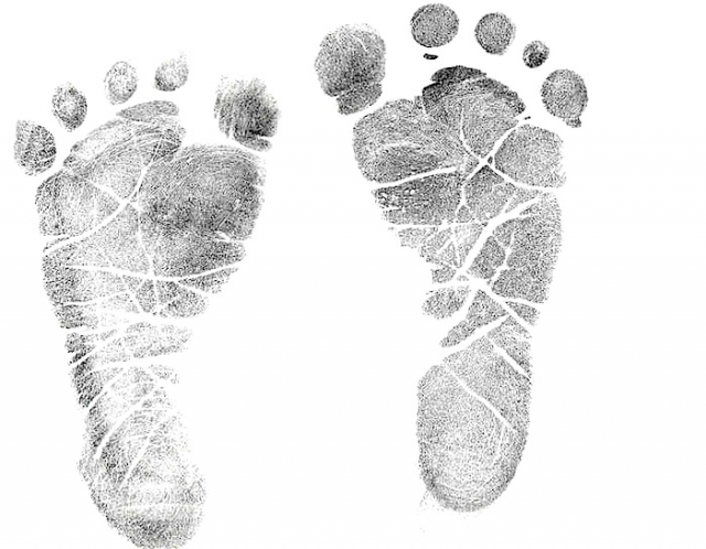 Baby Foot Prints.