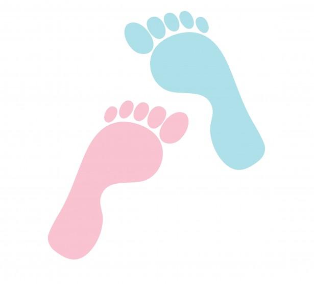 Baby Foot Print Clip Art & Baby Foot Print Clip Art Clip Art.