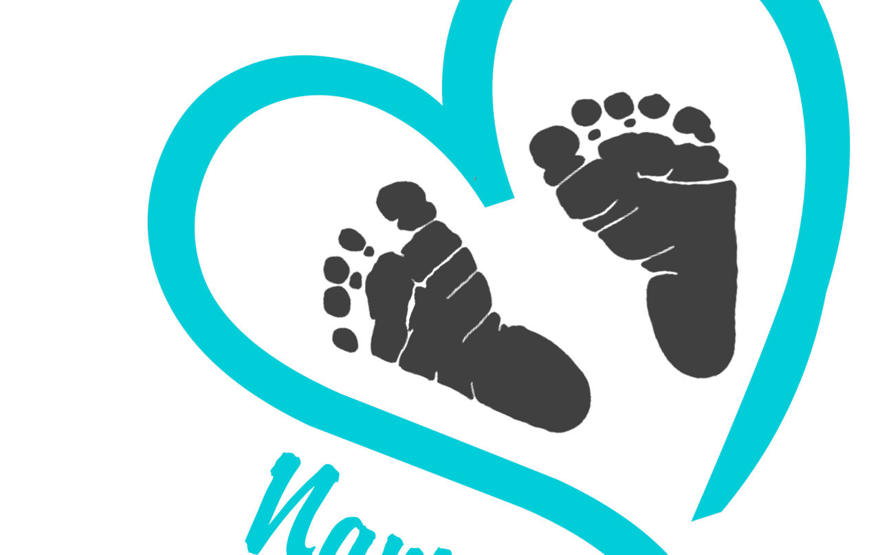 Footsteps clipart rainbow baby, Footsteps rainbow baby.