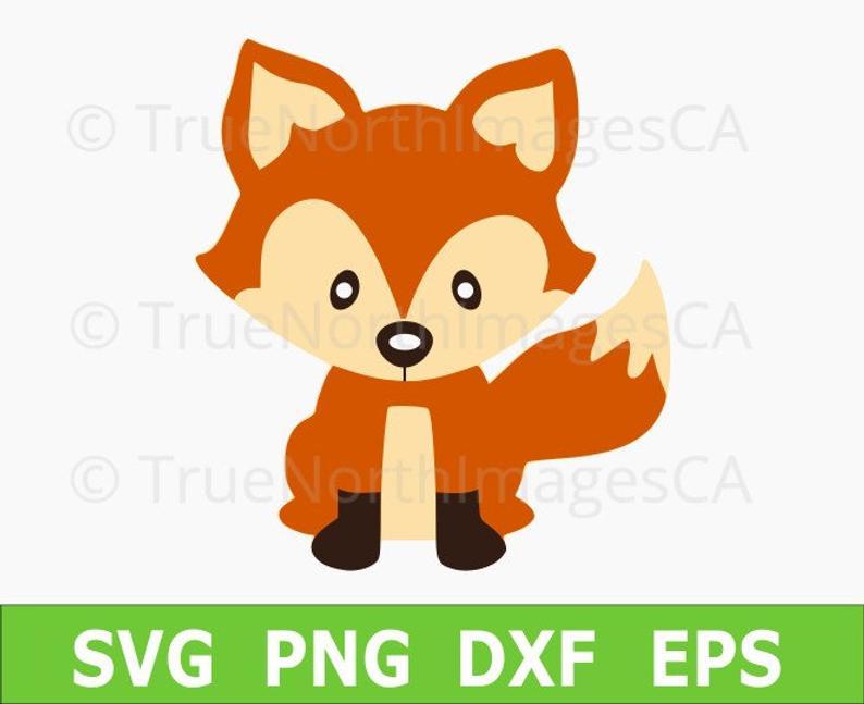 Fox SVG / Fox Vector / Fox Clipart / Baby Fox SVG / Woodland Animal Clipart  / Woodland Animal SVG / svg Files for Cricut / Silhouette.