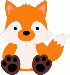 Baby fox clipart 4 » Clipart Station.
