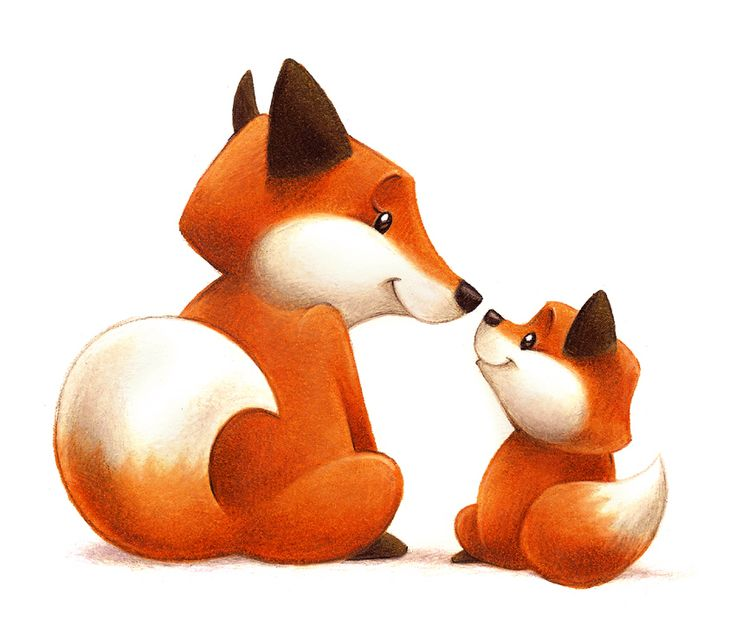 Baby fox clipart 1 » Clipart Station.