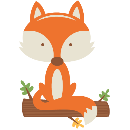 Baby Fox PNG Transparent Image.