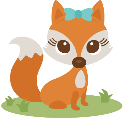 Baby Fox Transparent Background PNG.